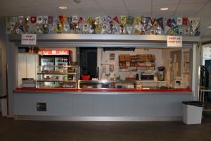 Kiosk og kantine